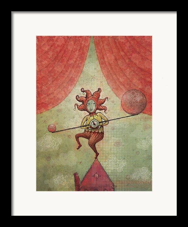 Balance Framed Print By Dennis Wunsch