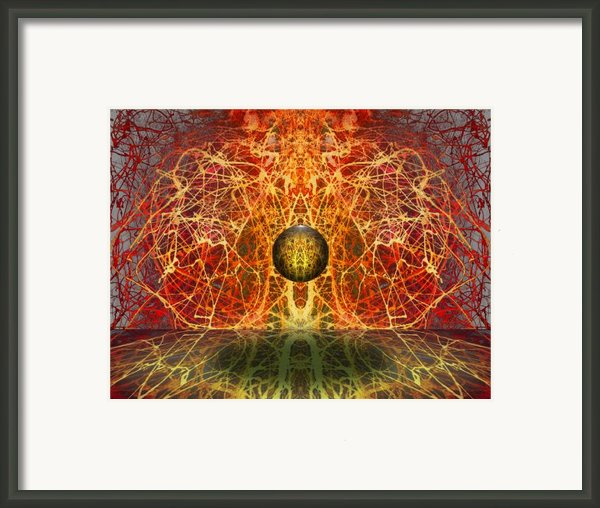 Ball And Strings Framed Print By Otto Rapp