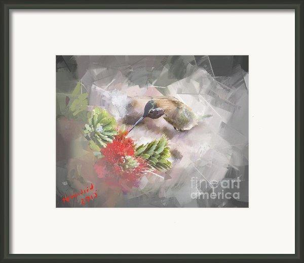 Ballerina Framed Print By Arne Hansen