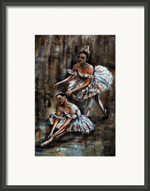 Ballerina Framed Print By Nancy Bradley