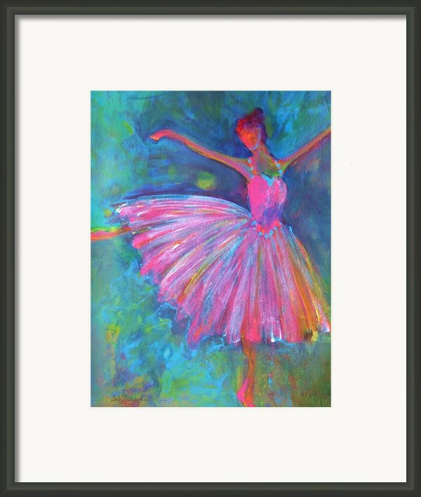 Ballet Bliss Framed Print By Deb Magelssen