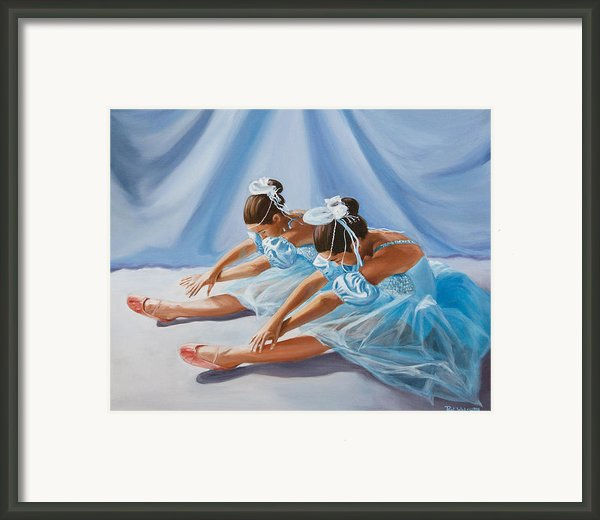 Ballet Dancers Framed Print By Paul Walsh