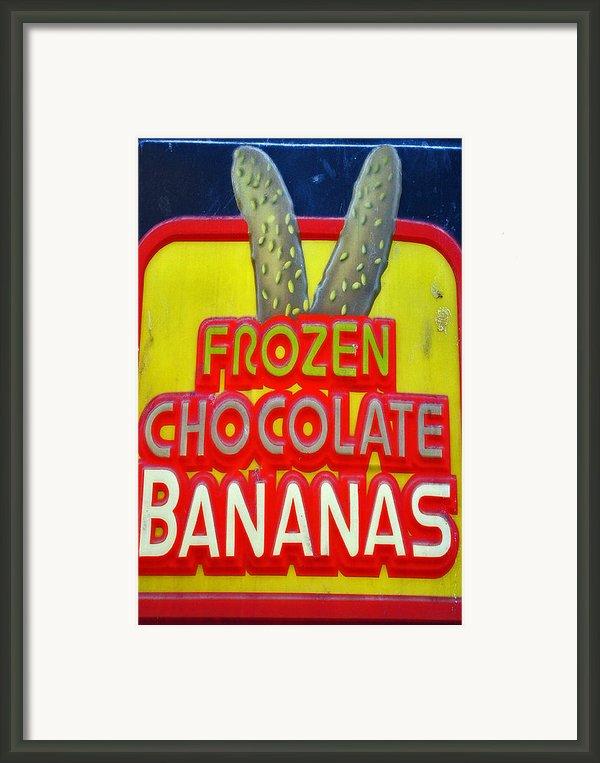 Bananas Framed Print By Skip Willits
