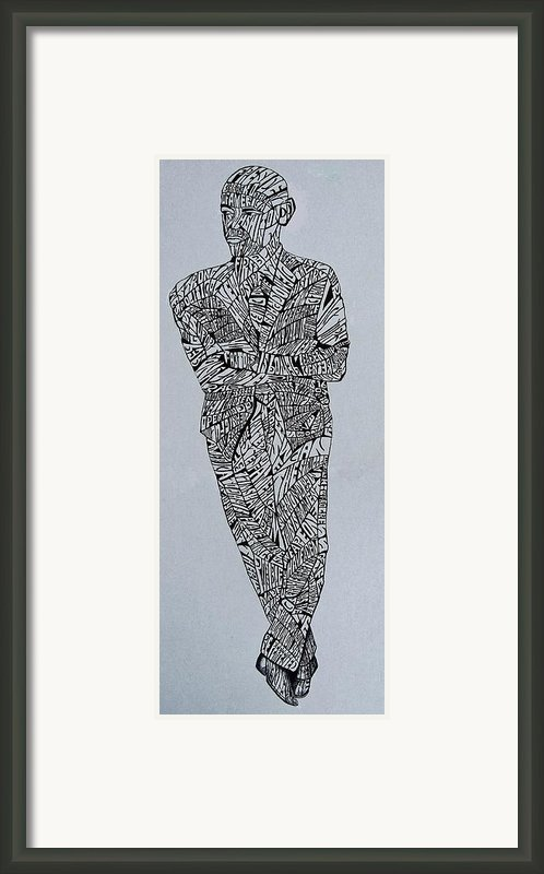 Barack Obama Framed Print By Lourents Oybur