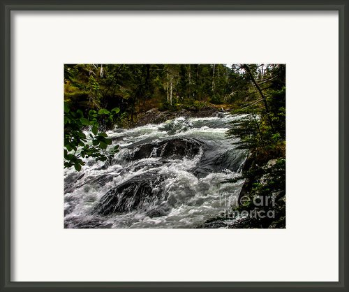 Baranof River Framed Print By Robert Bales