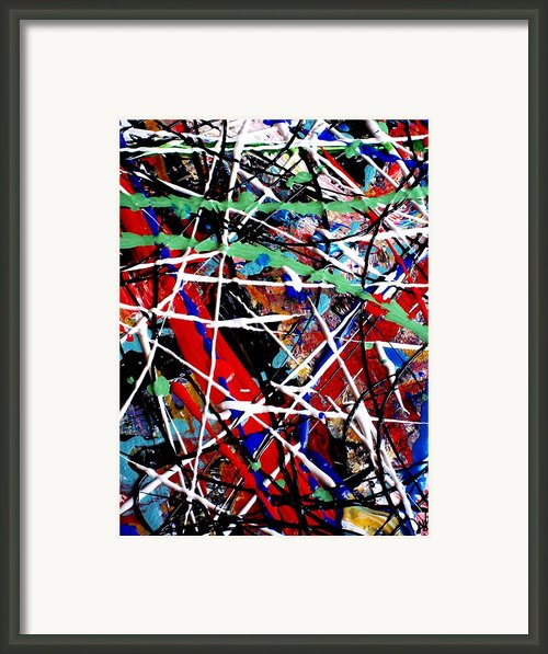 Barbed Madness Framed Print By David Rogers