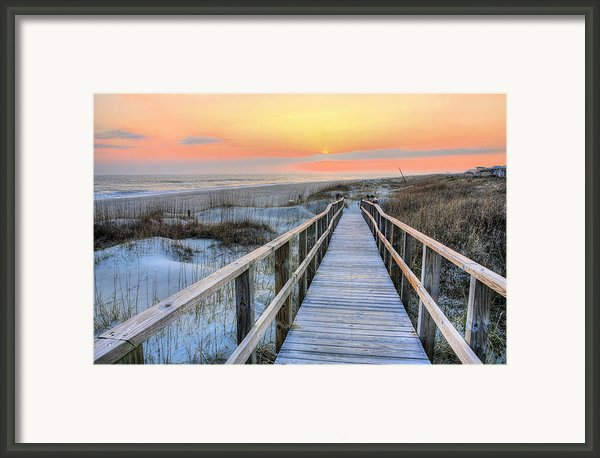 Barefoot Framed Print By Jc Findley