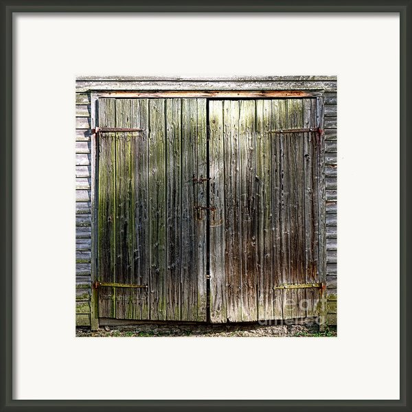Barndoors  Framed Print By Olivier Le Queinec