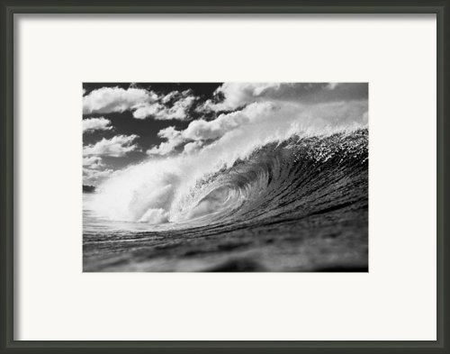 Barrel Clouds Framed Print By Sean Davey