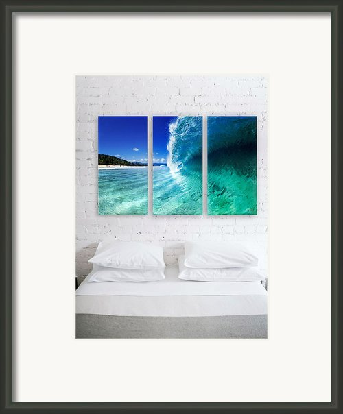 Barrel Swirl Framed Print By Sean Davey