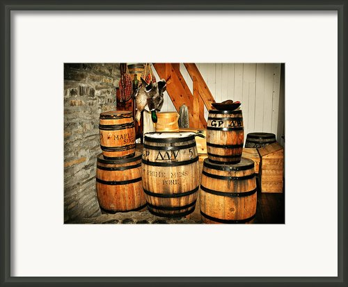 Barrels  Framed Print By Marty Koch