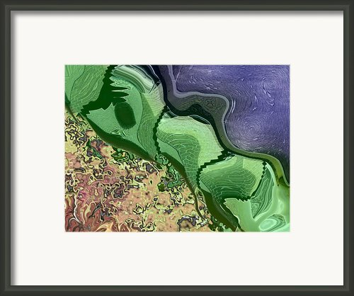 Barrier Framed Print By Wendy J St Christopher
