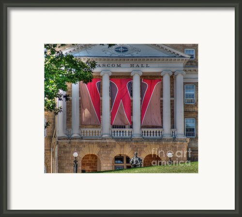 Bascom Hall Framed Print By David Bearden