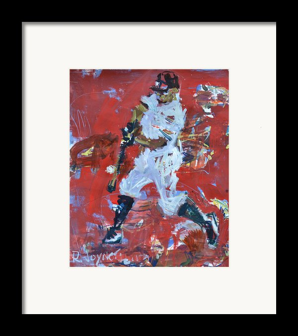Baseball Painting Framed Print By Robert Joyner