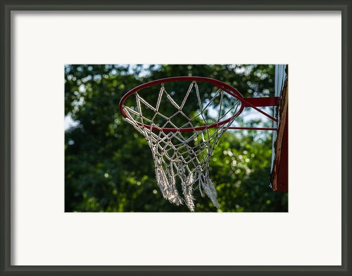 Basket - Featured 3 Framed Print By Alexander Senin