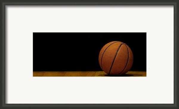 Basketball Panorama Framed Print By Andrew Soundarajan