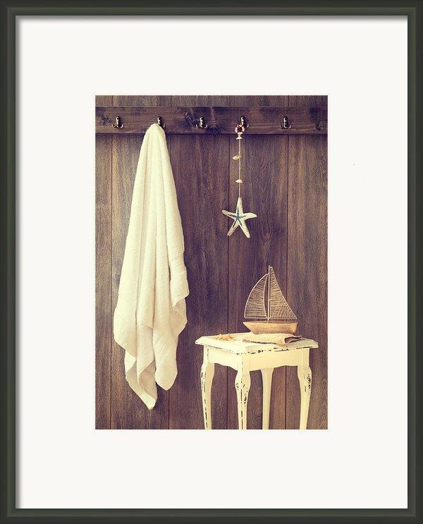 Bathroom Interior Framed Print By Amanda And Christopher Elwell