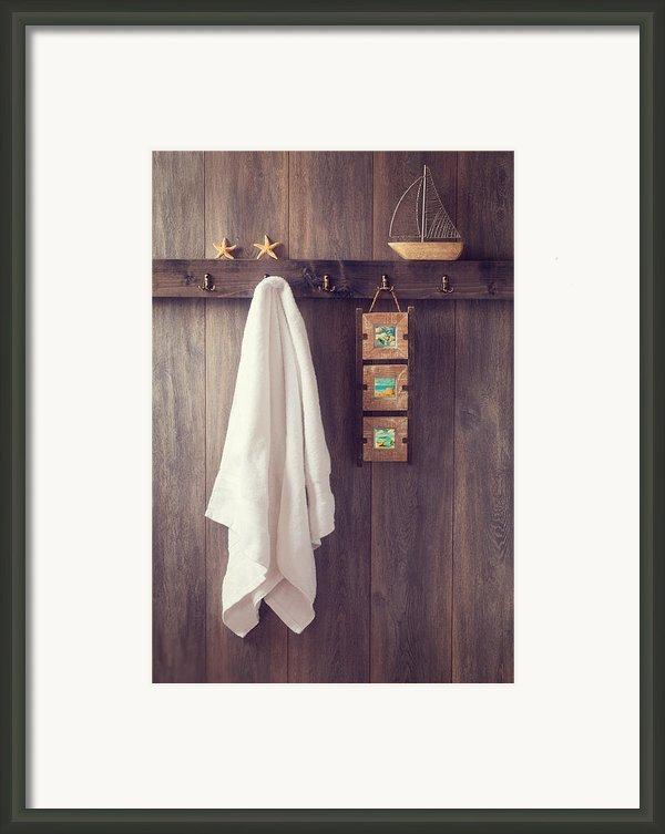 Bathroom Wall Framed Print By Christopher And Amanda Elwell