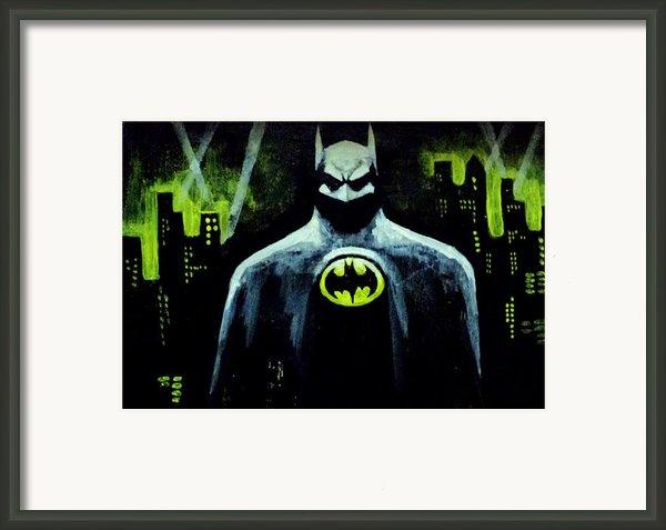 Batman Framed Print By Salman Ravish