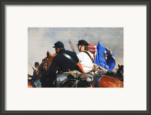Battle Of Franklin - 2 Framed Print By Kae Cheatham