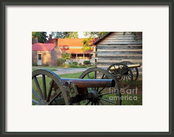 Battle Of Franklin Framed Print By Brian Jannsen