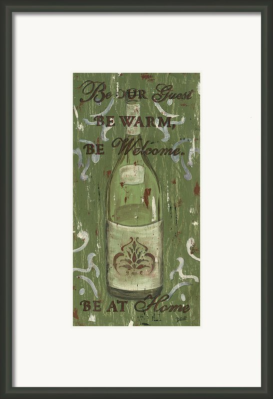 Be Our Guest Framed Print By Debbie Dewitt