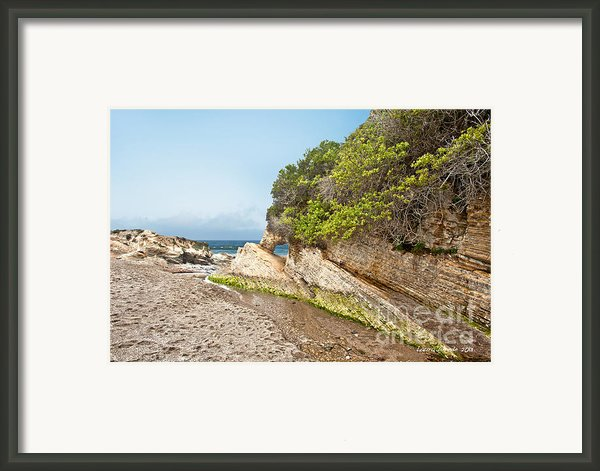 Beach At Montana De Oro Framed Print By Author And Photographer Laura Wrede