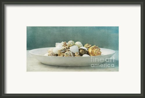 Beach In A Bowl Framed Print By Priska Wettstein