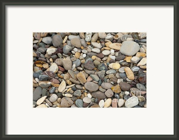 Beach Rocks Framed Print By Author And Photographer Laura Wrede