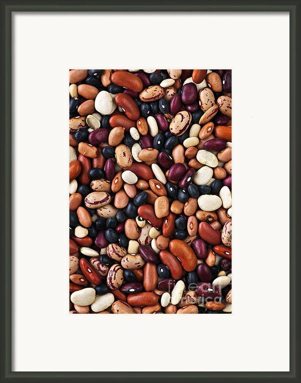 Beans Framed Print By Elena Elisseeva