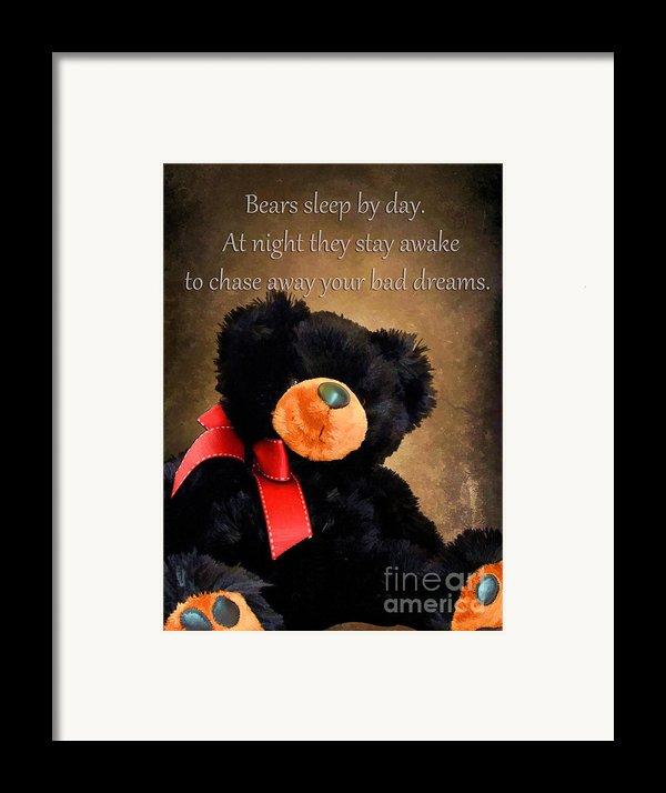 Bears Sleep By Day Framed Print By Darren Fisher