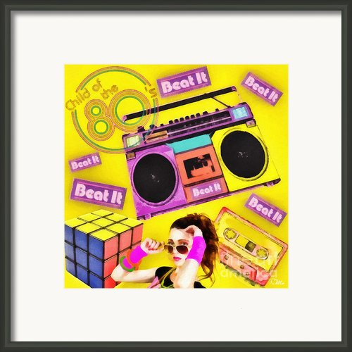 Beat It Framed Print By Mo T