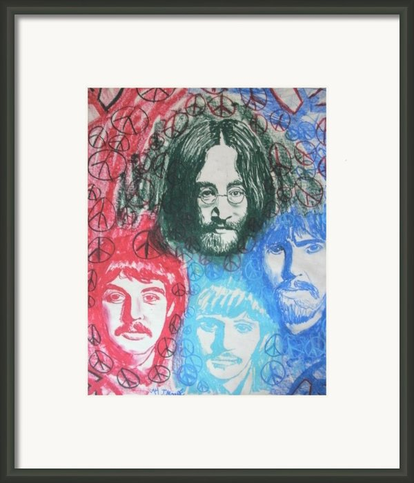 Beatles Framed Print By Jeremy Moore