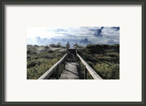 Beautiful Day At Cape Hatteras Framed Print By Patricia Januszkiewicz