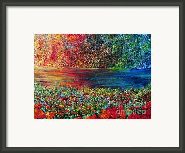 Beautiful Day Framed Print By Teresa Wegrzyn