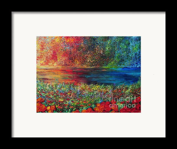 Beautiful Day Framed Print By Teresa Wegrzyn