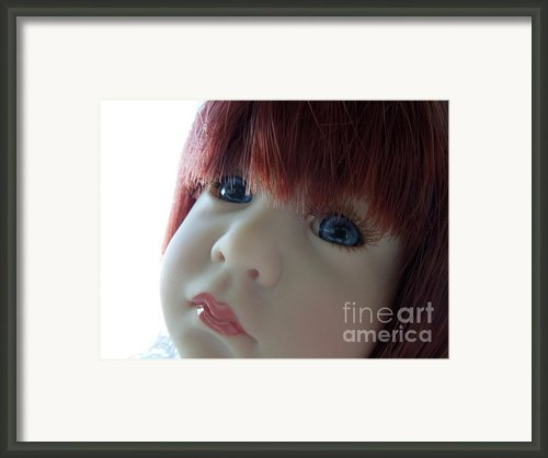 Beautiful Doll Framed Print By Renee Trenholm