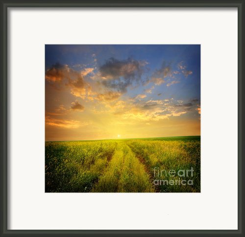 Beautiful Sunsets Photos Framed Print By Boon Mee