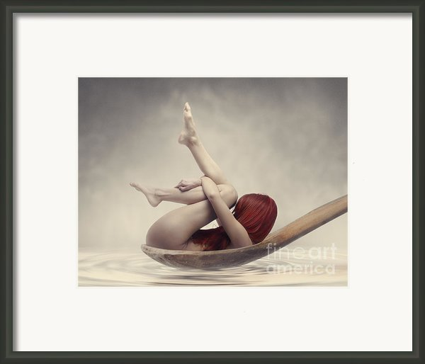 Beauty Bath Framed Print By Jelena Jovanovic
