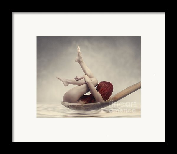 Beauty Bath Framed Print By Jelena Jovanovic