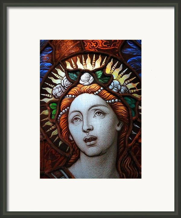 Beauty In Glass Framed Print By Ed Weidman