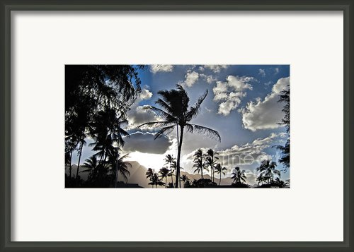 Beauty Of The Islands Framed Print By Cheryl Young
