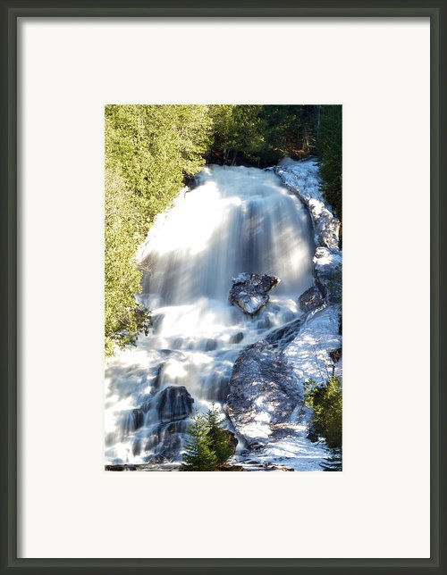 Beaver Falls #3 Framed Print By Armand  Roux - Northern Point Photography