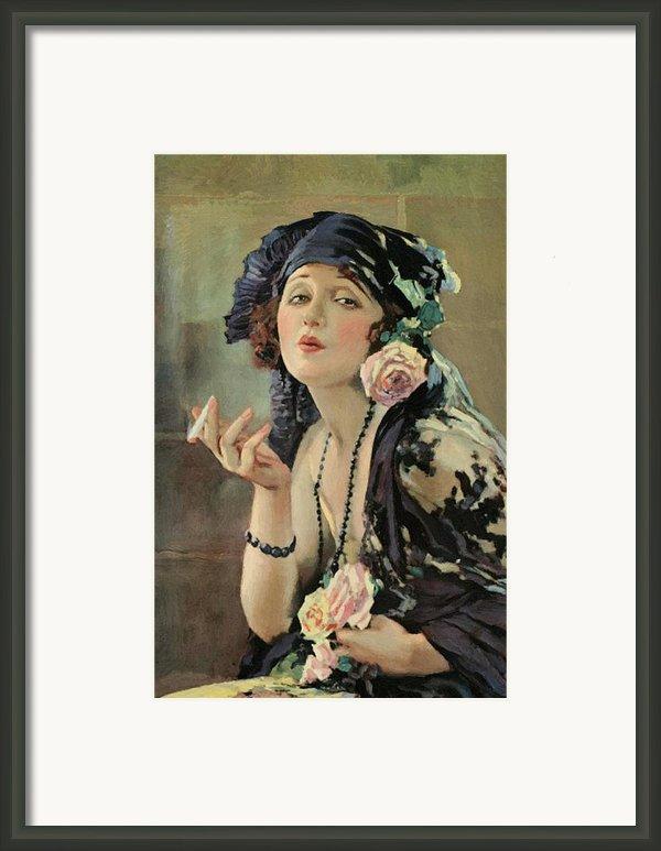 Bebe Daniels Framed Print By Stefan Kuhn