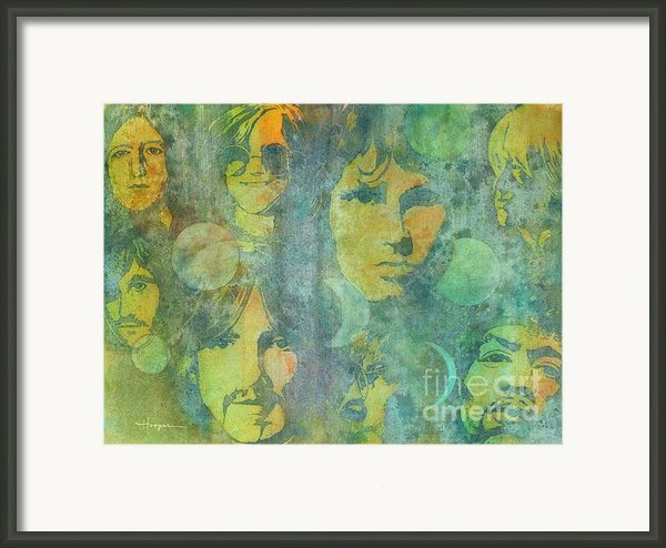 Because Framed Print By Robert Hooper