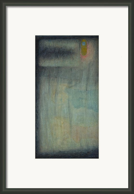 Bed With Cellphone Framed Print By Oni Kerrtu