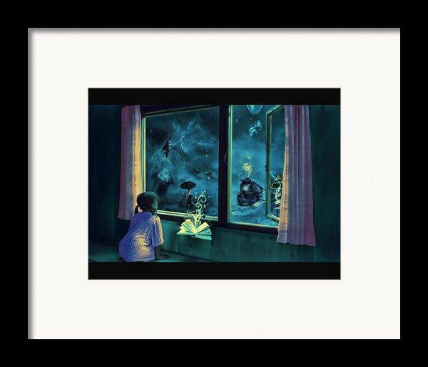 Bedtime Stories Framed Print By Erik Brede