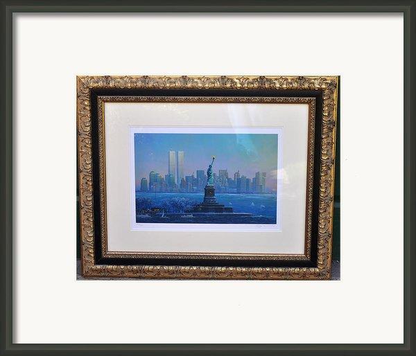 Before Nine Eleven Framed Print By Jay Milo