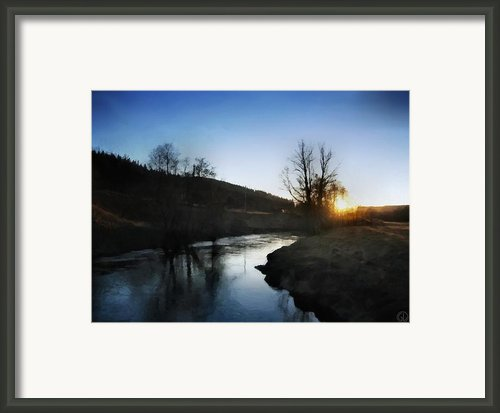 Before The Snow Framed Print By Gun Legler