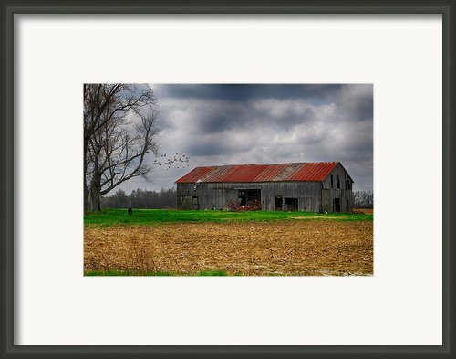 Before The Storm Framed Print By Mary Timman